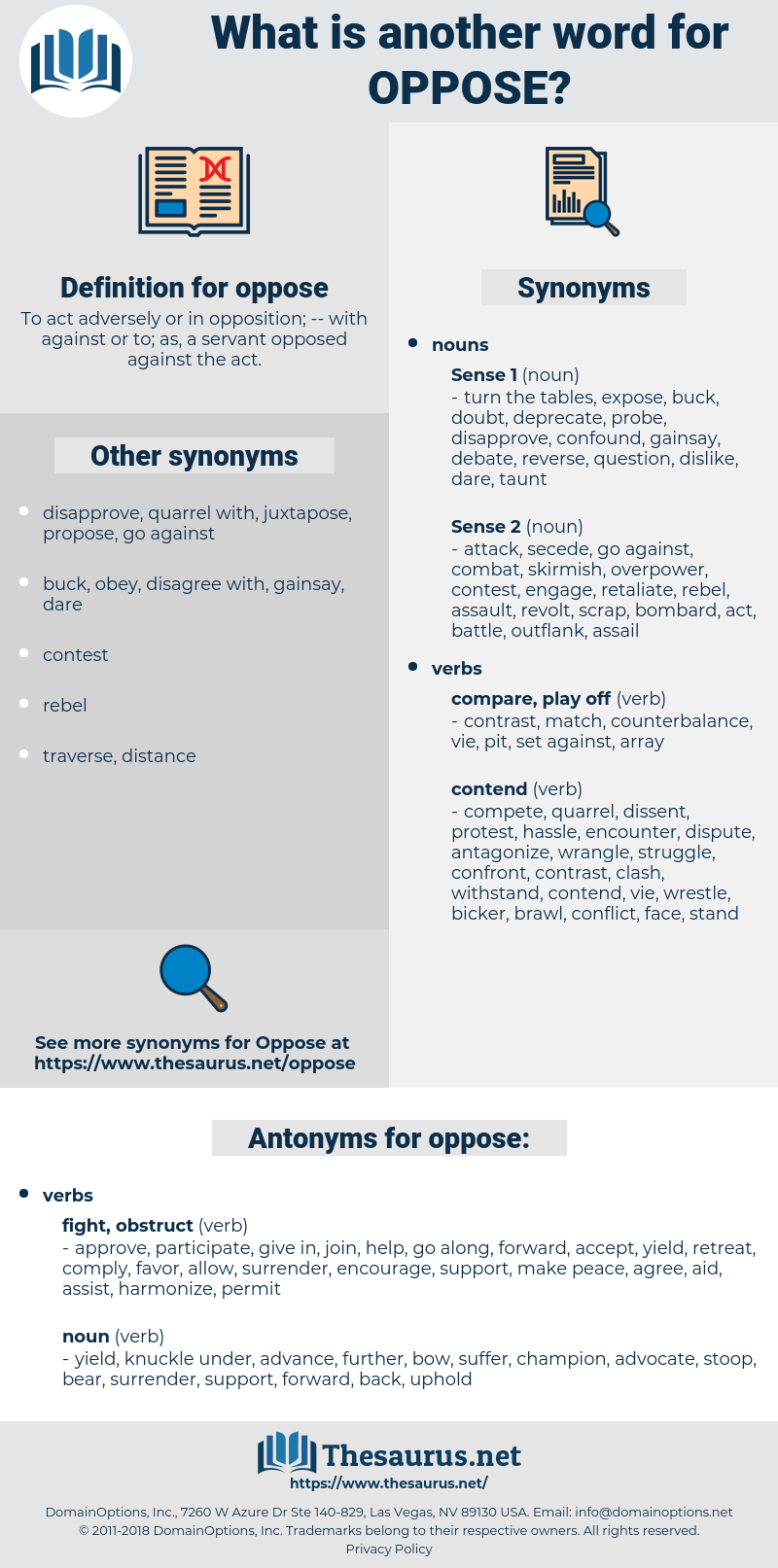 oppose, synonym oppose, another word for oppose, words like oppose, thesaurus oppose
