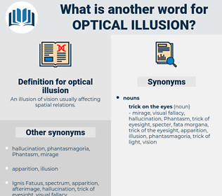 optical illusion, synonym optical illusion, another word for optical illusion, words like optical illusion, thesaurus optical illusion