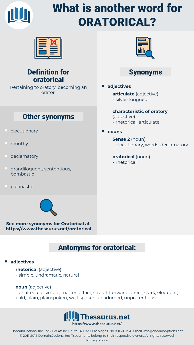 oratorical, synonym oratorical, another word for oratorical, words like oratorical, thesaurus oratorical
