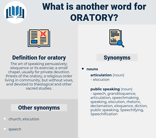oratory, synonym oratory, another word for oratory, words like oratory, thesaurus oratory