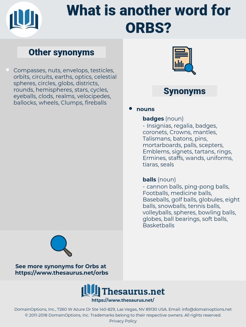 orbs, synonym orbs, another word for orbs, words like orbs, thesaurus orbs