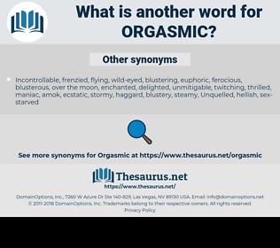 orgasmic, synonym orgasmic, another word for orgasmic, words like orgasmic, thesaurus orgasmic