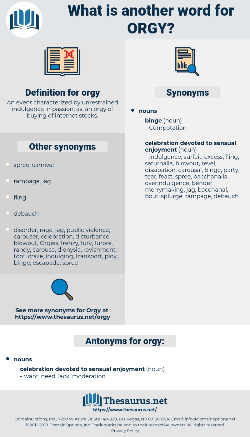 Orgy-Synonym
