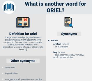 oriel, synonym oriel, another word for oriel, words like oriel, thesaurus oriel