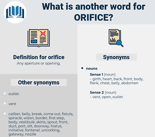 orifice, synonym orifice, another word for orifice, words like orifice, thesaurus orifice