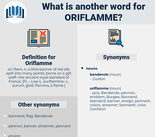 Oriflamme, synonym Oriflamme, another word for Oriflamme, words like Oriflamme, thesaurus Oriflamme