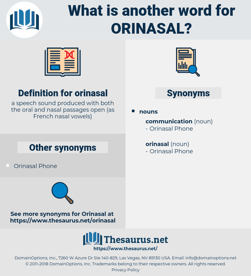 orinasal, synonym orinasal, another word for orinasal, words like orinasal, thesaurus orinasal