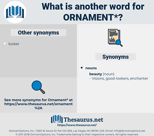 ornament, synonym ornament, another word for ornament, words like ornament, thesaurus ornament