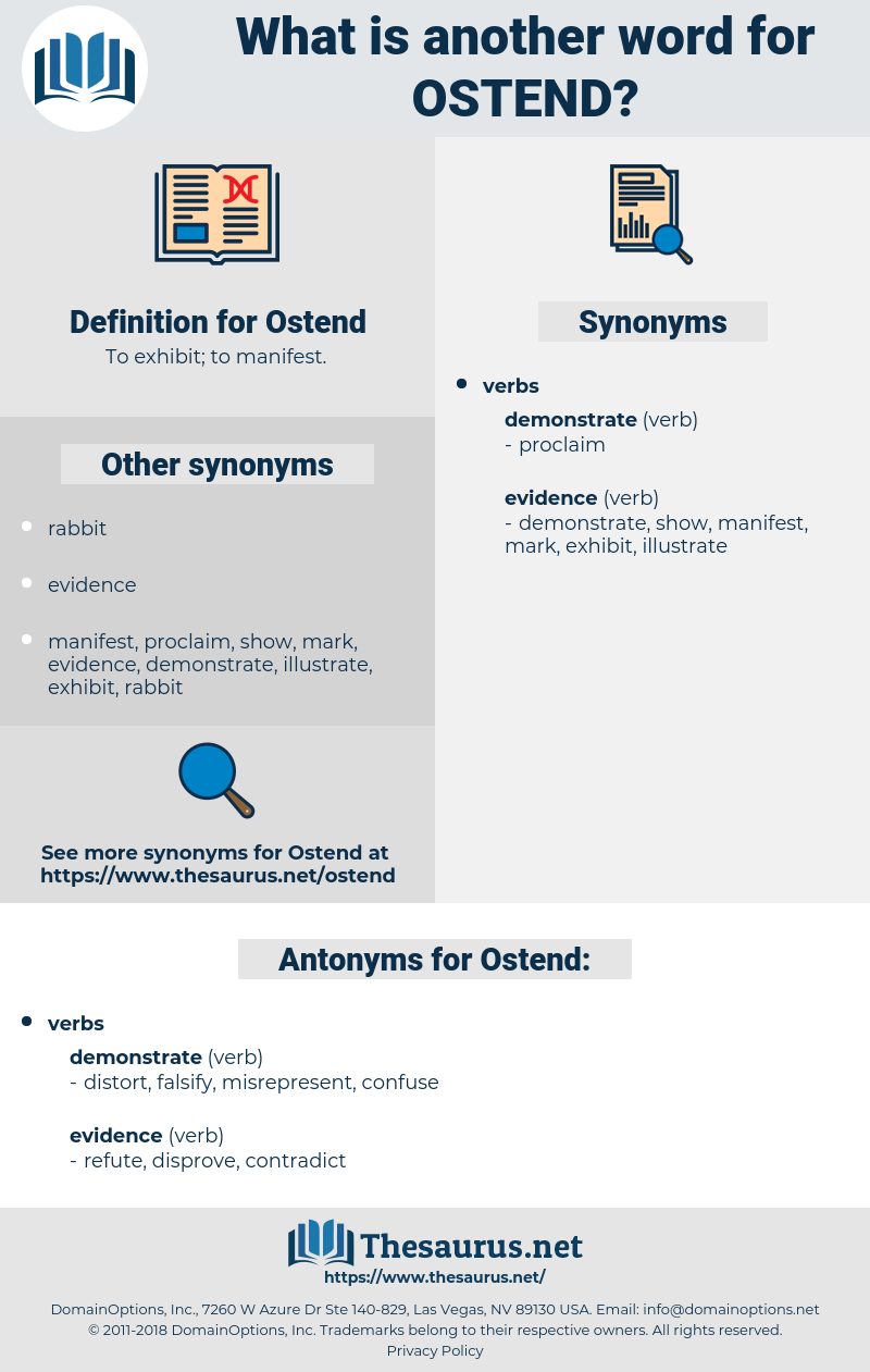 Ostend, synonym Ostend, another word for Ostend, words like Ostend, thesaurus Ostend