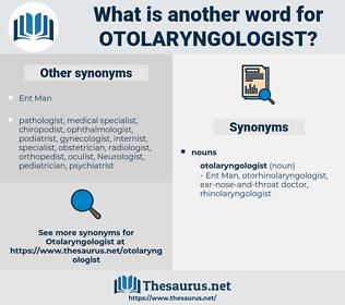 otolaryngologist, synonym otolaryngologist, another word for otolaryngologist, words like otolaryngologist, thesaurus otolaryngologist