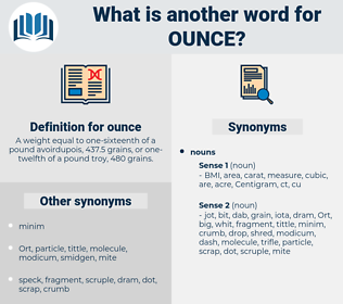 ounce, synonym ounce, another word for ounce, words like ounce, thesaurus ounce