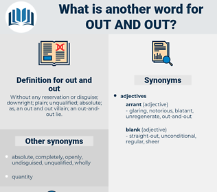 out and out, synonym out and out, another word for out and out, words like out and out, thesaurus out and out