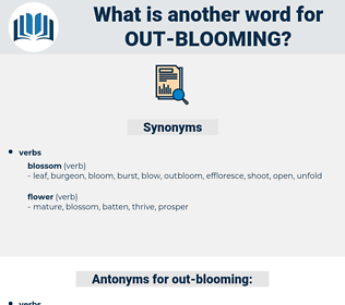 out-blooming, synonym out-blooming, another word for out-blooming, words like out-blooming, thesaurus out-blooming