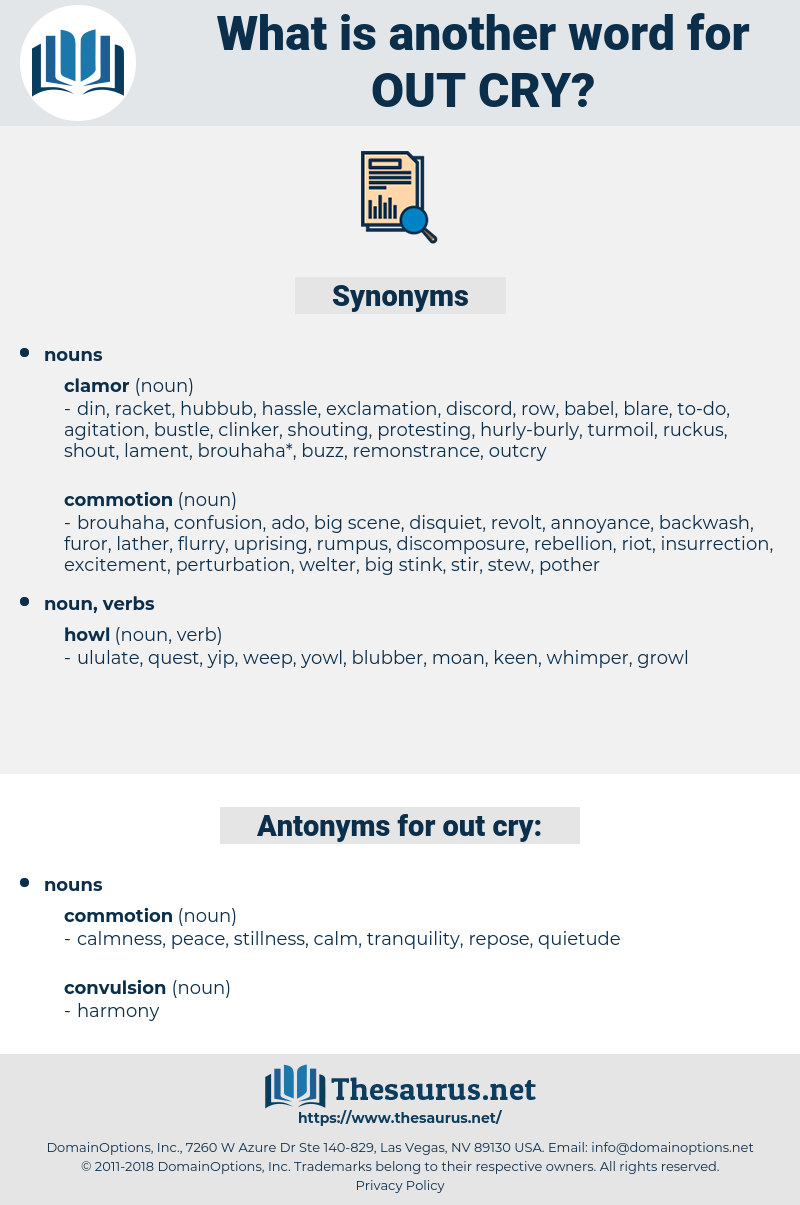 out-cry, synonym out-cry, another word for out-cry, words like out-cry, thesaurus out-cry