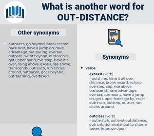 out-distance, synonym out-distance, another word for out-distance, words like out-distance, thesaurus out-distance