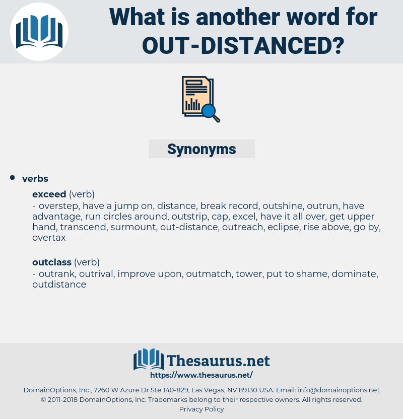 out distanced, synonym out distanced, another word for out distanced, words like out distanced, thesaurus out distanced