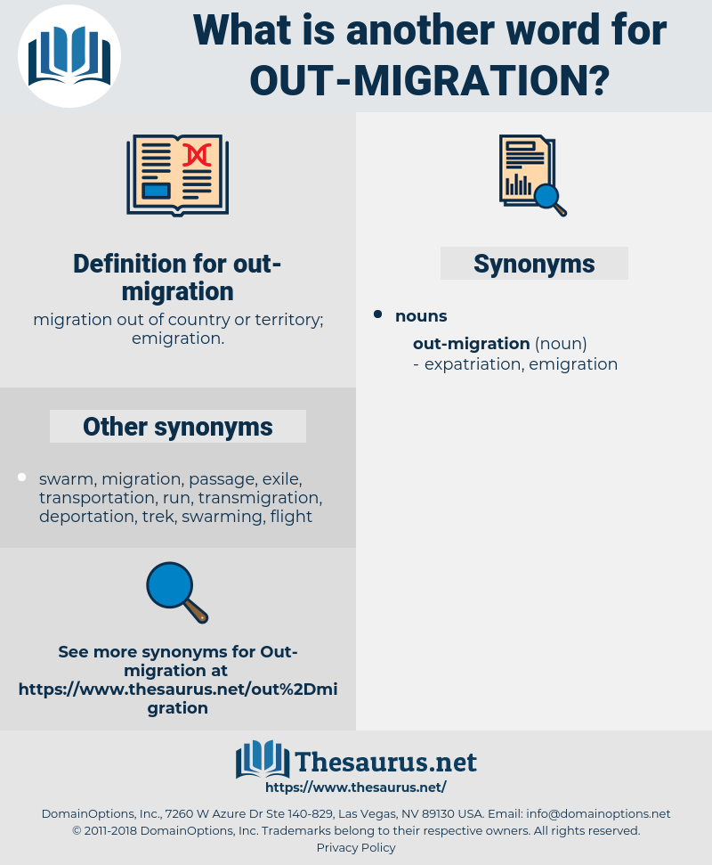 out-migration, synonym out-migration, another word for out-migration, words like out-migration, thesaurus out-migration