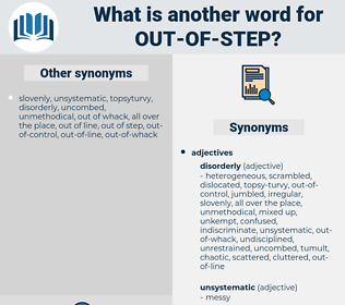 out-of-step, synonym out-of-step, another word for out-of-step, words like out-of-step, thesaurus out-of-step