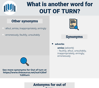 out of turn, synonym out of turn, another word for out of turn, words like out of turn, thesaurus out of turn