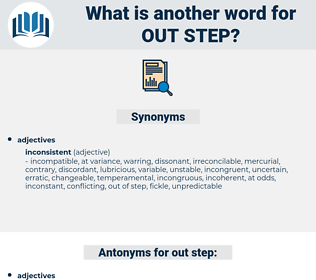 out step, synonym out step, another word for out step, words like out step, thesaurus out step
