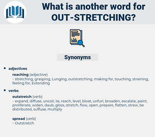 out stretching, synonym out stretching, another word for out stretching, words like out stretching, thesaurus out stretching