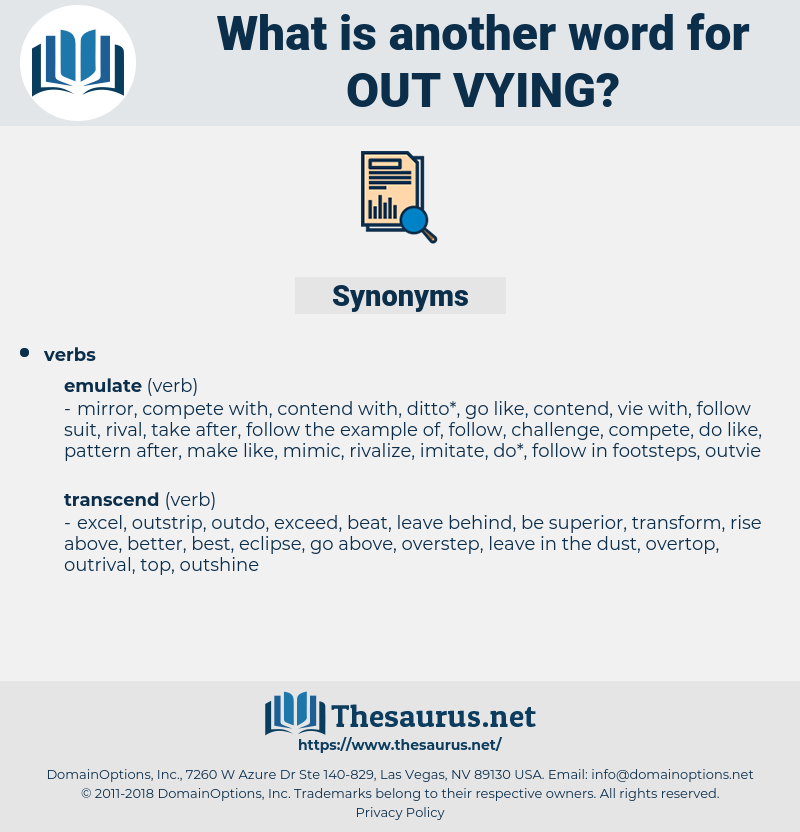out vying, synonym out vying, another word for out vying, words like out vying, thesaurus out vying