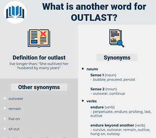 outlast, synonym outlast, another word for outlast, words like outlast, thesaurus outlast