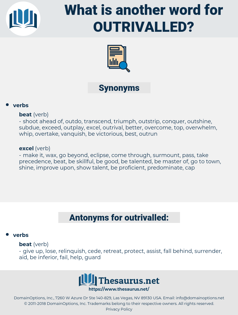 outrivalled, synonym outrivalled, another word for outrivalled, words like outrivalled, thesaurus outrivalled