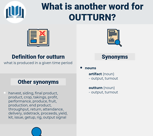 outturn, synonym outturn, another word for outturn, words like outturn, thesaurus outturn