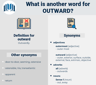 outward, synonym outward, another word for outward, words like outward, thesaurus outward