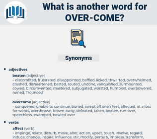 over come, synonym over come, another word for over come, words like over come, thesaurus over come