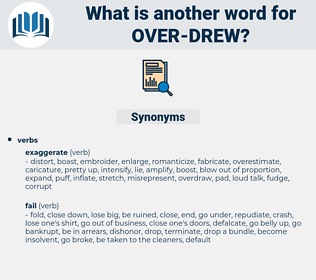 over-drew, synonym over-drew, another word for over-drew, words like over-drew, thesaurus over-drew