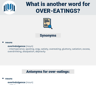 over-eatings, synonym over-eatings, another word for over-eatings, words like over-eatings, thesaurus over-eatings