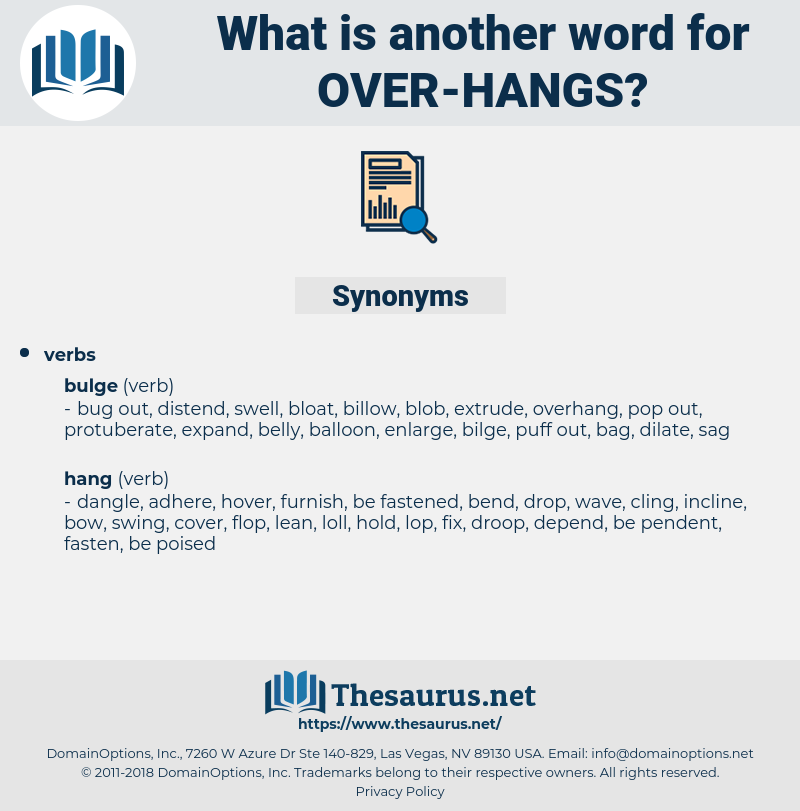 over hangs, synonym over hangs, another word for over hangs, words like over hangs, thesaurus over hangs