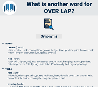 over lap, synonym over lap, another word for over lap, words like over lap, thesaurus over lap