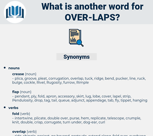 over-laps, synonym over-laps, another word for over-laps, words like over-laps, thesaurus over-laps