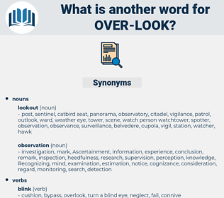 over-look, synonym over-look, another word for over-look, words like over-look, thesaurus over-look