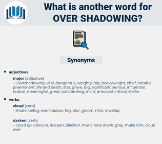 over shadowing, synonym over shadowing, another word for over shadowing, words like over shadowing, thesaurus over shadowing
