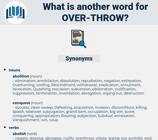 over-throw, synonym over-throw, another word for over-throw, words like over-throw, thesaurus over-throw