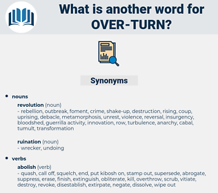 over turn, synonym over turn, another word for over turn, words like over turn, thesaurus over turn