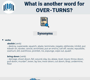 over turns, synonym over turns, another word for over turns, words like over turns, thesaurus over turns