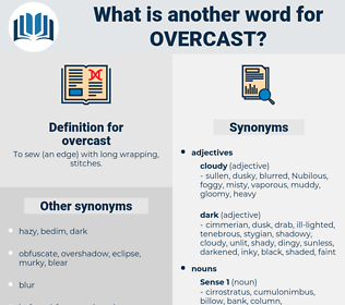 overcast, synonym overcast, another word for overcast, words like overcast, thesaurus overcast