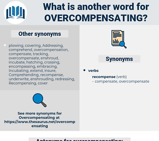 overcompensating, synonym overcompensating, another word for overcompensating, words like overcompensating, thesaurus overcompensating