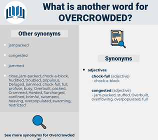 overcrowded, synonym overcrowded, another word for overcrowded, words like overcrowded, thesaurus overcrowded
