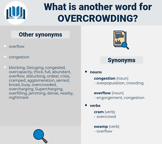 overcrowding, synonym overcrowding, another word for overcrowding, words like overcrowding, thesaurus overcrowding
