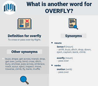 overfly, synonym overfly, another word for overfly, words like overfly, thesaurus overfly