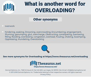Overloading, synonym Overloading, another word for Overloading, words like Overloading, thesaurus Overloading