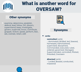 Oversaw, synonym Oversaw, another word for Oversaw, words like Oversaw, thesaurus Oversaw