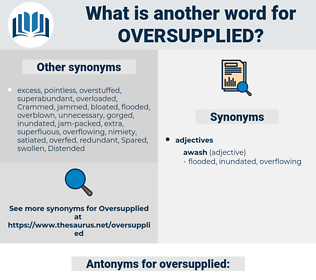 oversupplied, synonym oversupplied, another word for oversupplied, words like oversupplied, thesaurus oversupplied