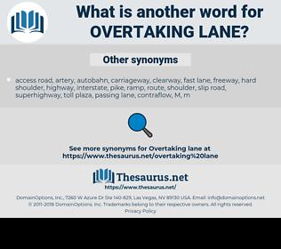 overtaking lane, synonym overtaking lane, another word for overtaking lane, words like overtaking lane, thesaurus overtaking lane
